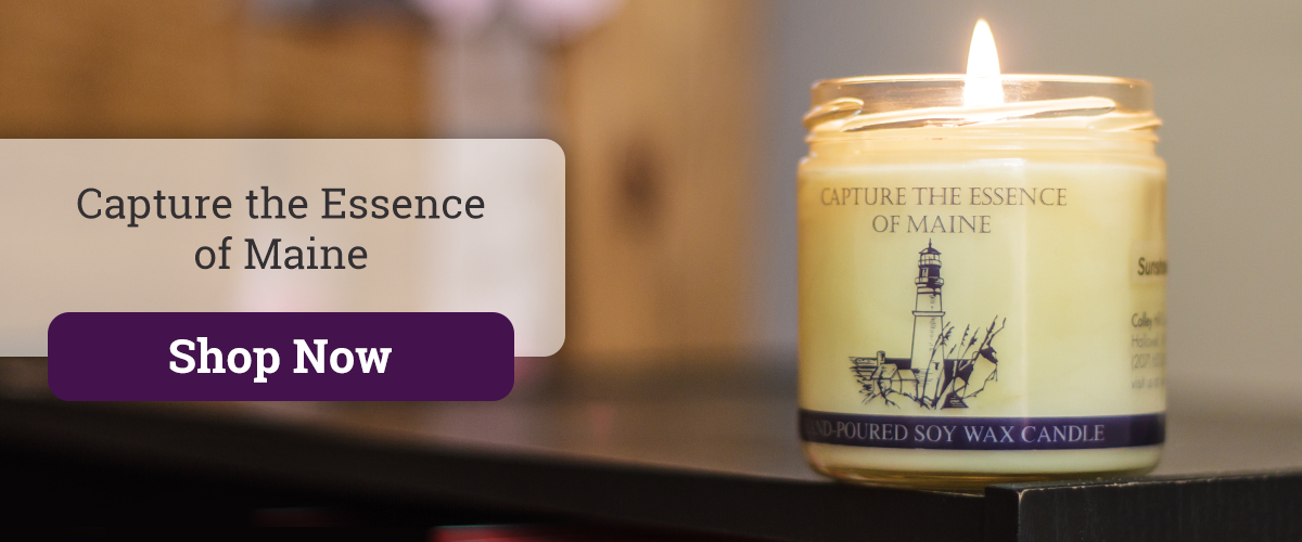 Capture the Essence of Maine - Colley Hill Soy Candles