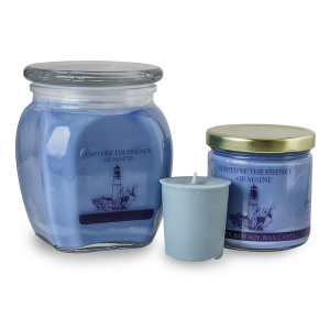 Colley Hill Soy Candles - Capture the Essence of Maine - Blue